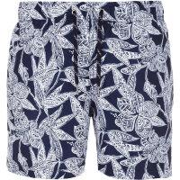 Szorty kąpielowe Batik Flower Tommy Hilfiger granatowy