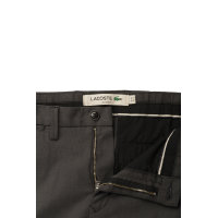 Chino pants Lacoste charcoal