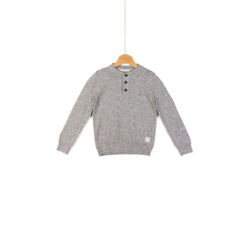 Deacon Henley Sweater Tommy Hilfiger gray