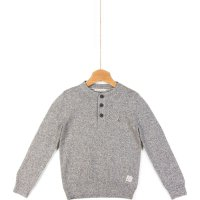 Sweter Deacon Henley Tommy Hilfiger szary