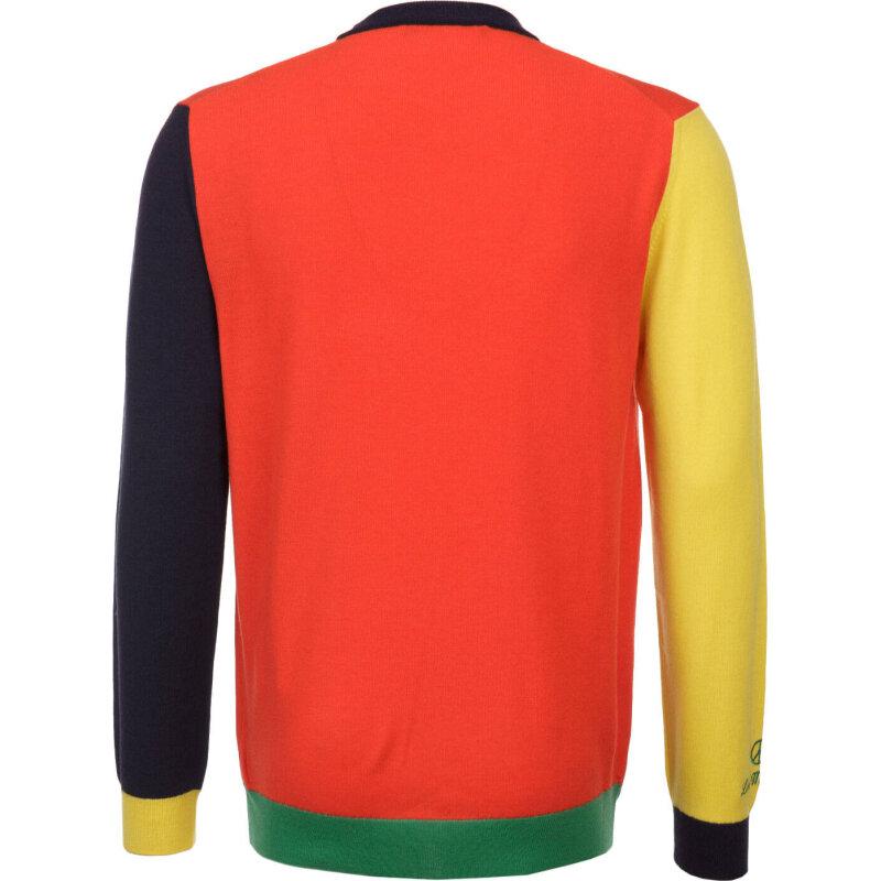 Sweter Love Moschino czerwony