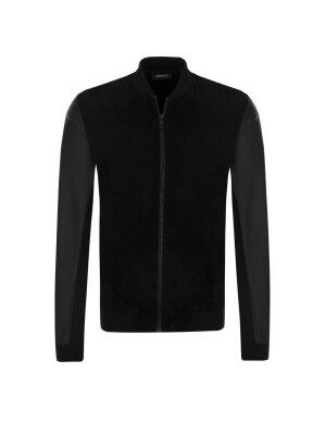 Lagerfeld Leather bomber jacket