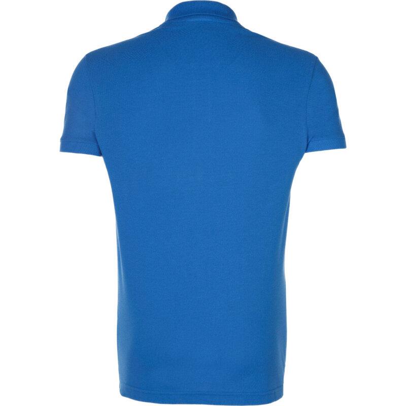 Polo Lacoste niebieski