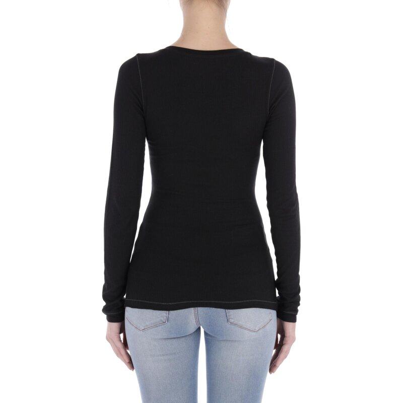 Blouse | Slim Fit Tommy Jeans black