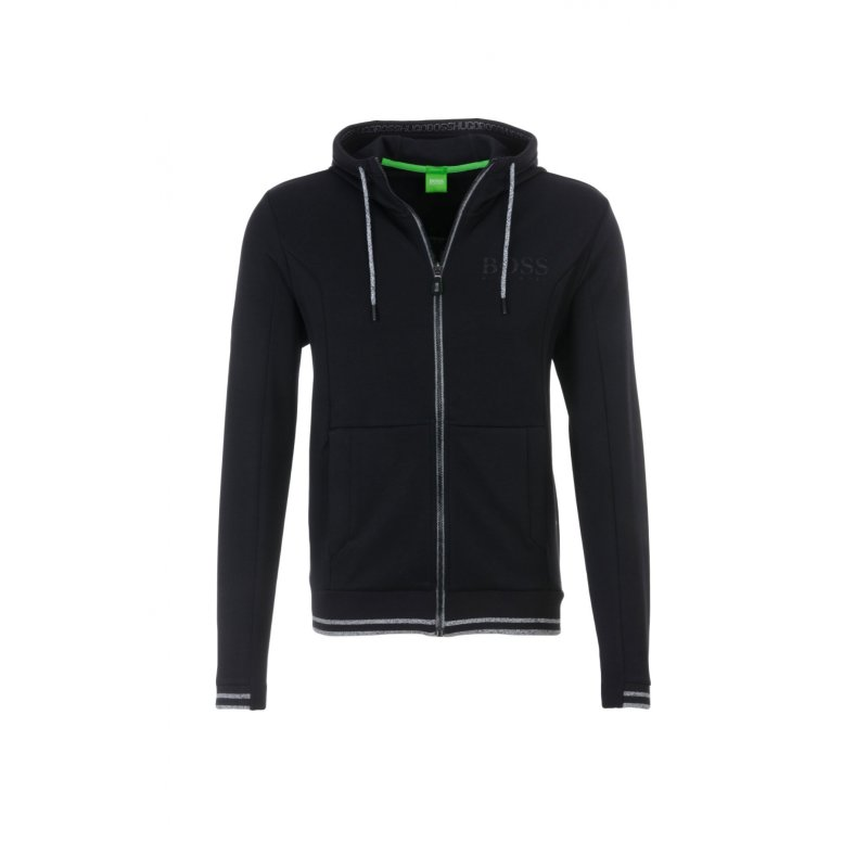 Saggy Sweatshirt Boss Green black