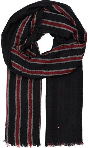 Tommy Hilfiger Wool scarf STRIPE BLOCK SCARF