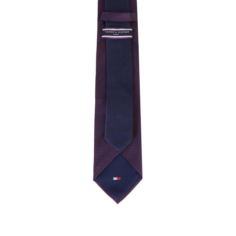 Krawat Tommy Hilfiger Tailored czerwony