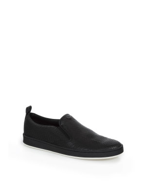Armani Jeans Slip-On Sneakers