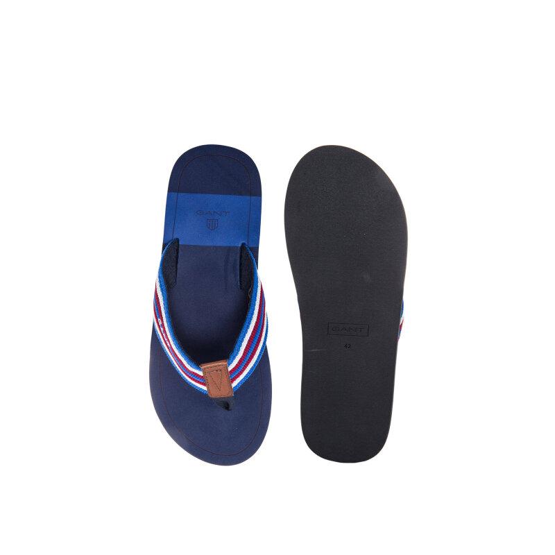 Ribbon Flip-flops Gant blue