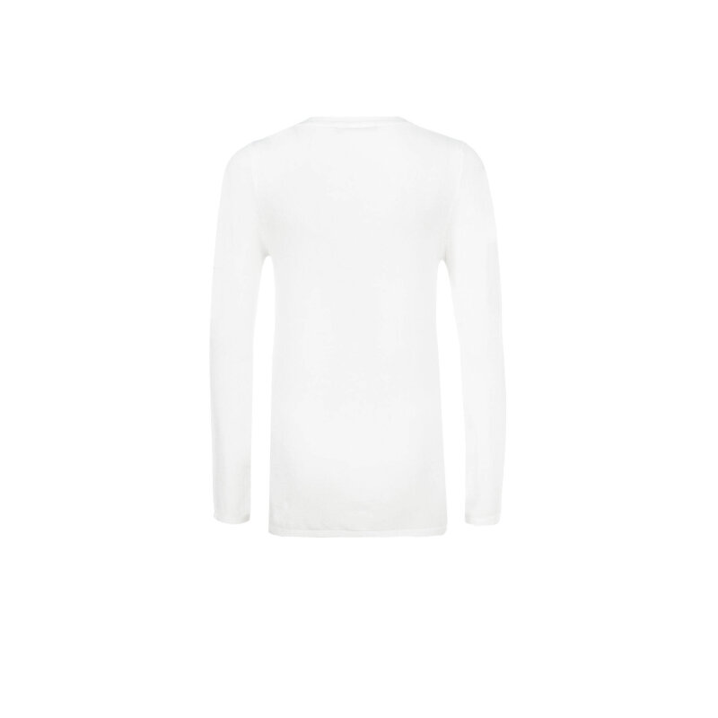 Sweter Trussardi Jeans kremowy