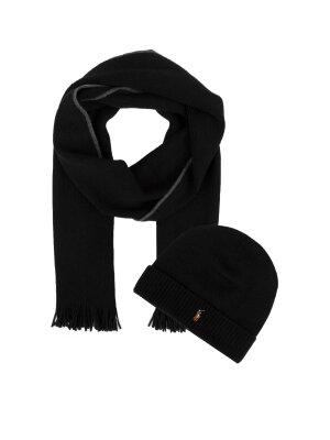 Polo Ralph Lauren Woolen beanie + woolen scarf