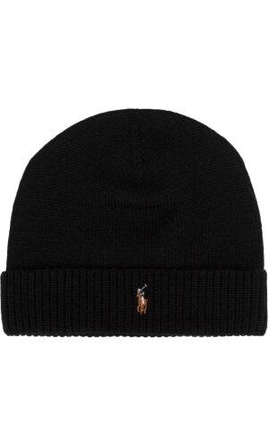 Polo Ralph Lauren Wełniana czapka + wełniany szal