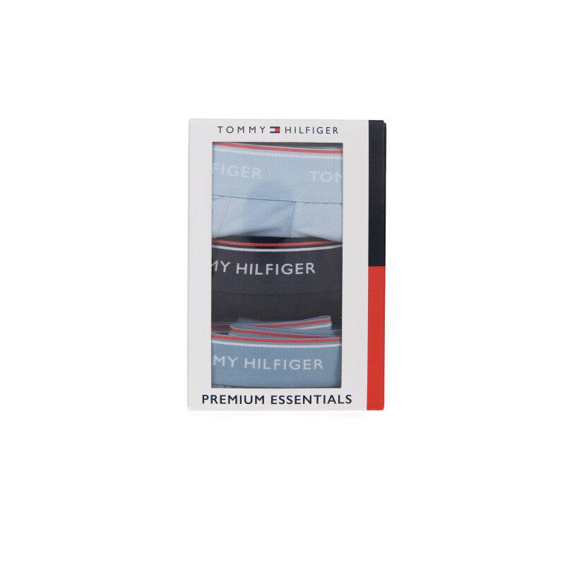 Bokserki Premium Essential 3-PACK Tommy Hilfiger błękitny