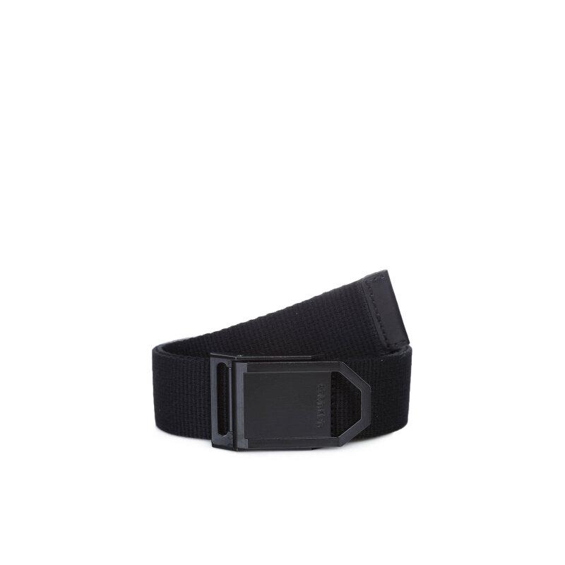 Pasek Webbing Calvin Klein Jeans czarny