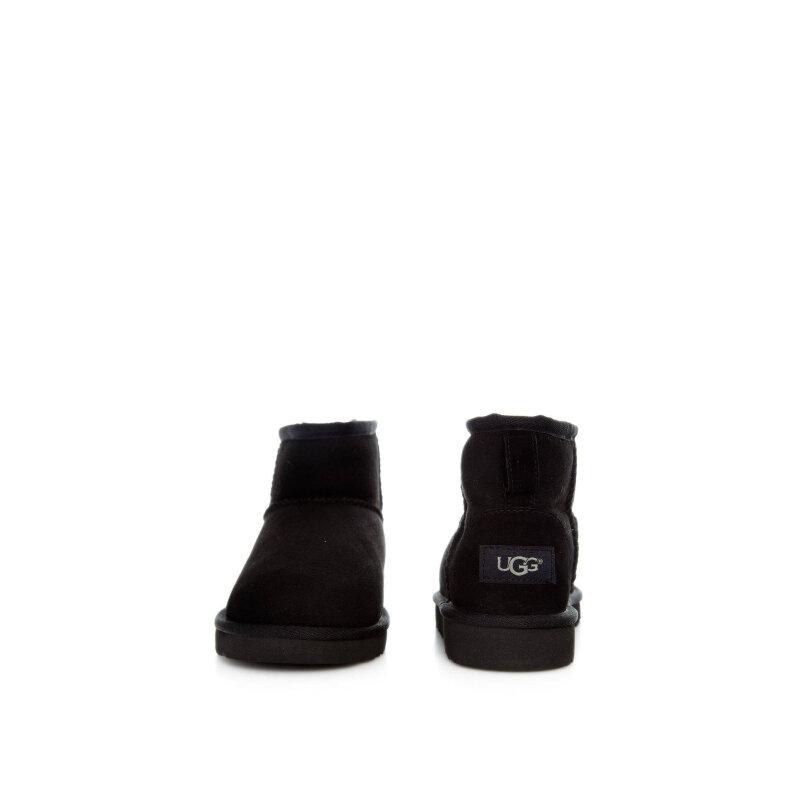 Śniegowce K Classic Mini UGG czarny