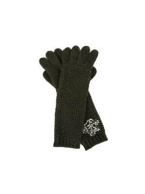 Twinset Strass Gloves