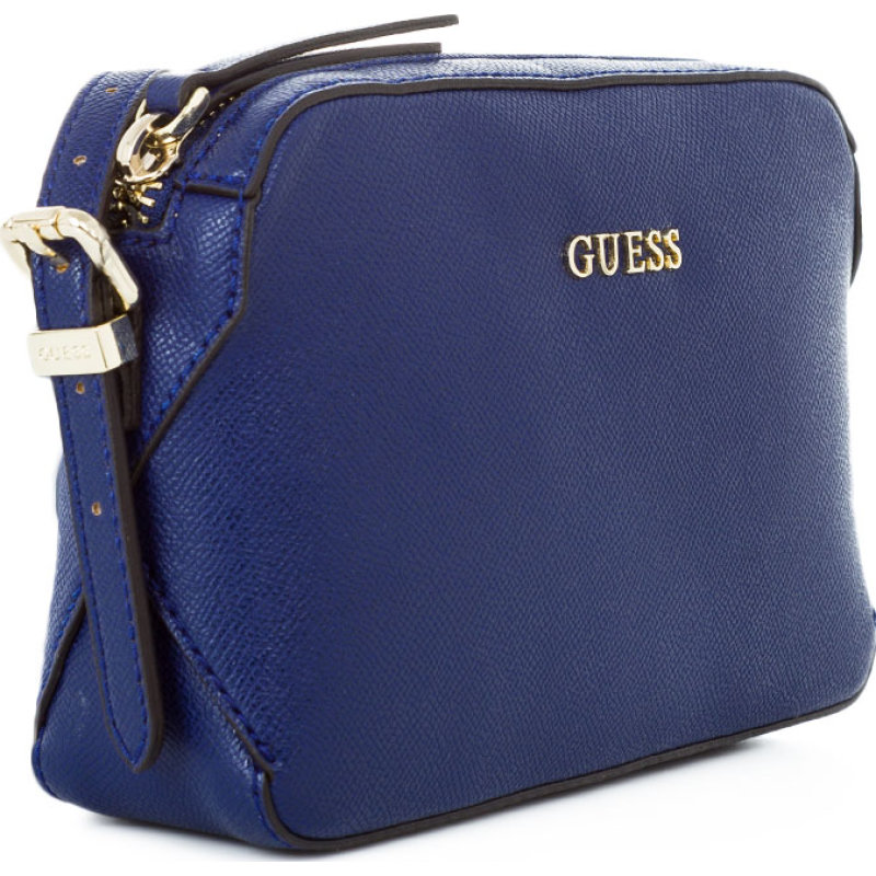 Messenger bag Guess navy blue