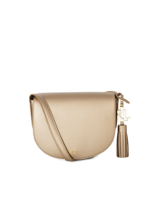 Lauren Ralph Lauren Caley Mini Saddle Messenger Bag