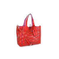Reversible shopper bag Versace Jeans red