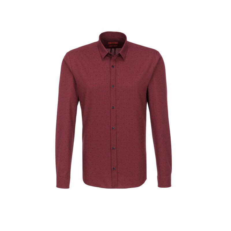 Ero3 Shirt Hugo burgundy