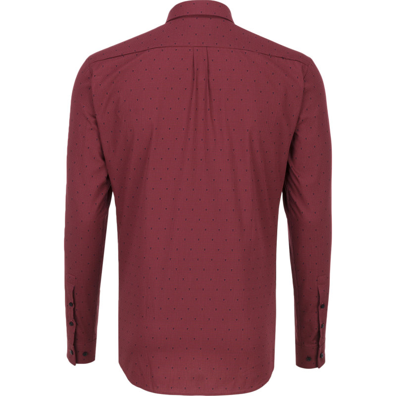 Ero3 Shirt Hugo burgundy