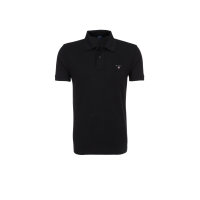 The Orginal Pique SS Rugger polo Gant black