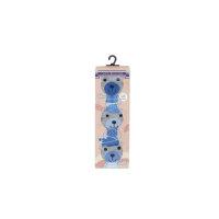 Skarpety Baby Giftbox 3-pack Tommy Hilfiger niebieski