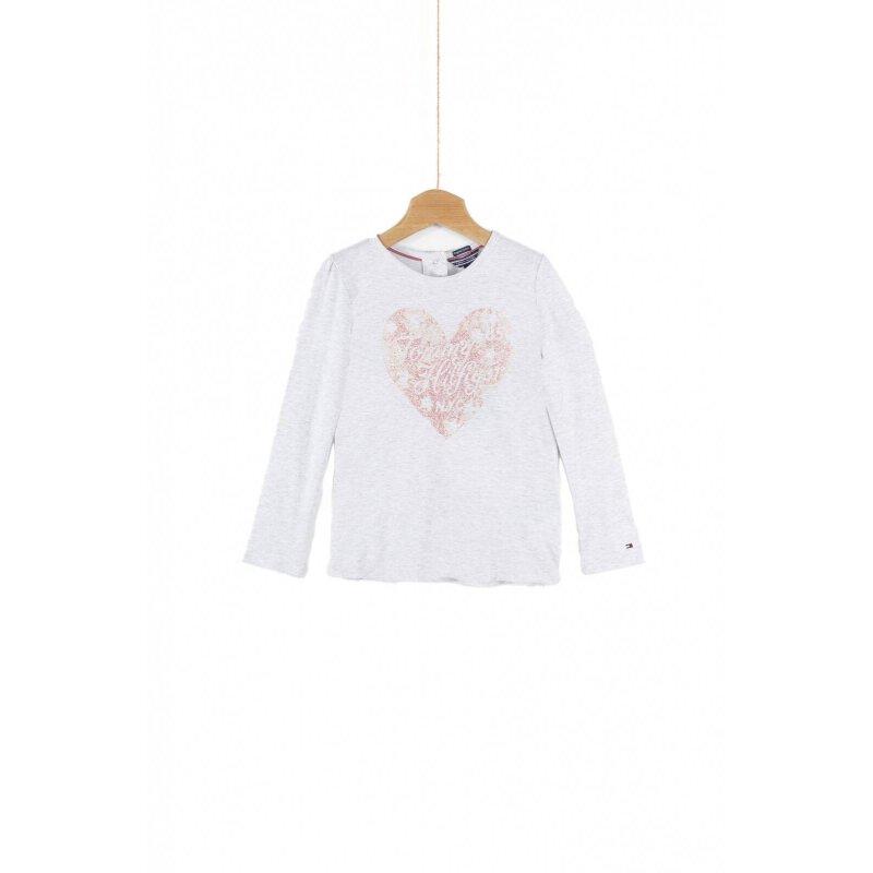 Bluzka Hearts Mini Tommy Hilfiger szary