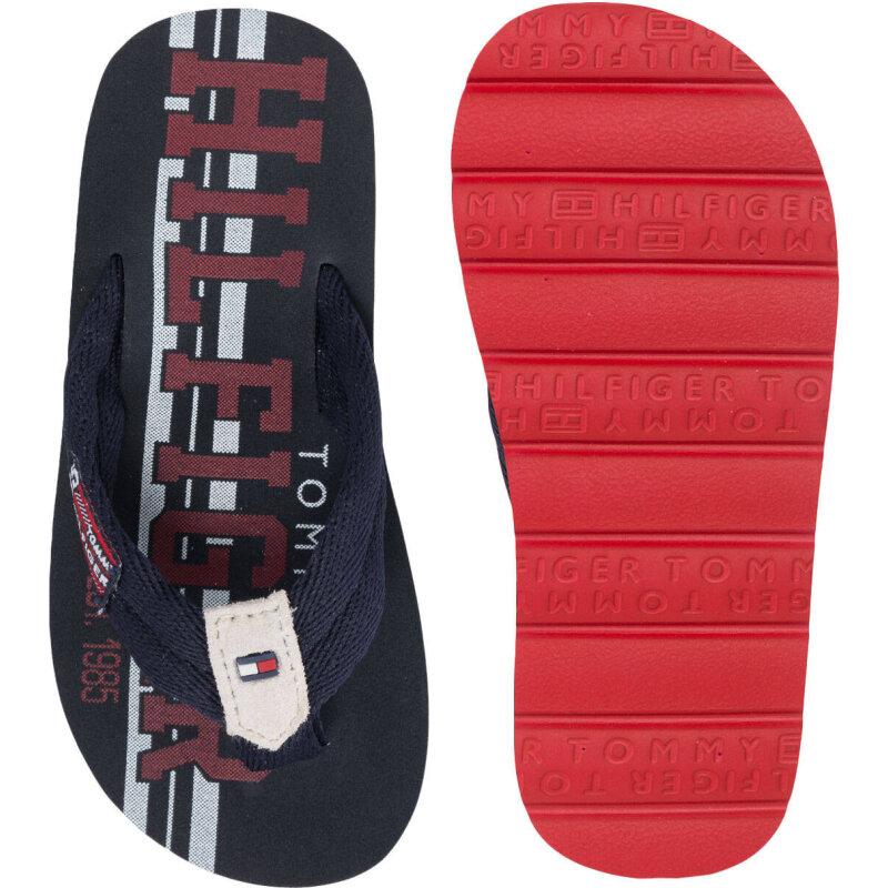Flip flops Tommy Hilfiger navy blue