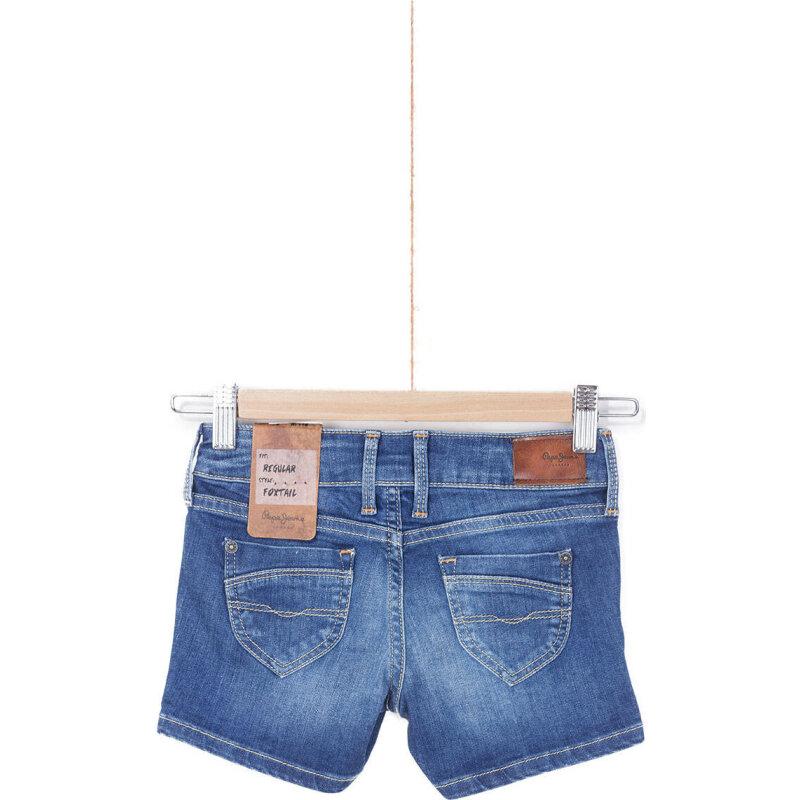 Szorty Foxtail Pepe Jeans London niebieski