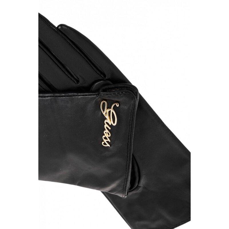 Rękawiczki Guess czarny
