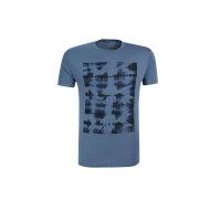 T-shirt Michael Kors niebieski