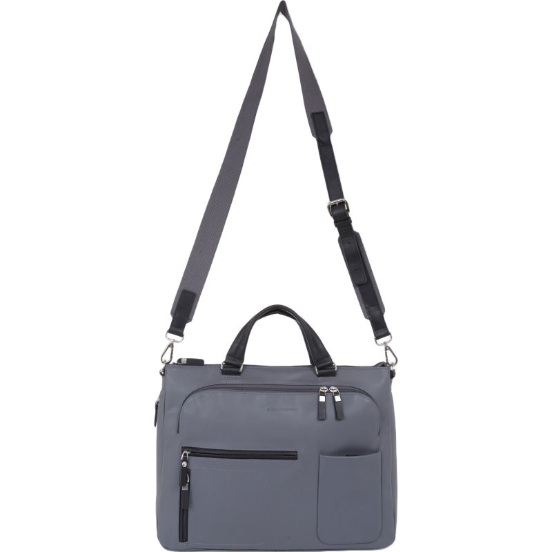 Business bag Piquadro gray