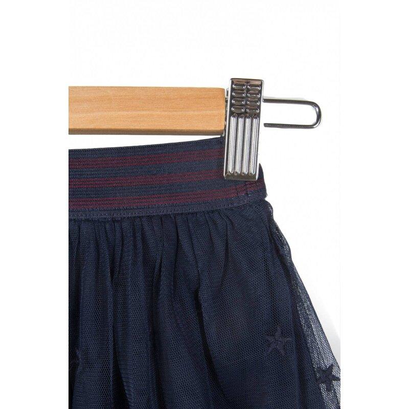 Star Skirt Tommy Hilfiger navy blue
