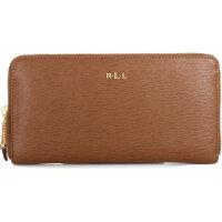 Tate wallet Lauren Ralph Lauren cognac