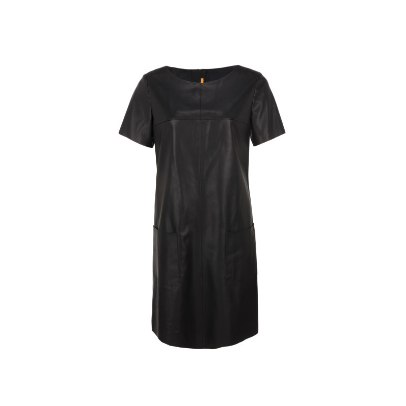 Sukienka Apelilly Boss Orange czarny