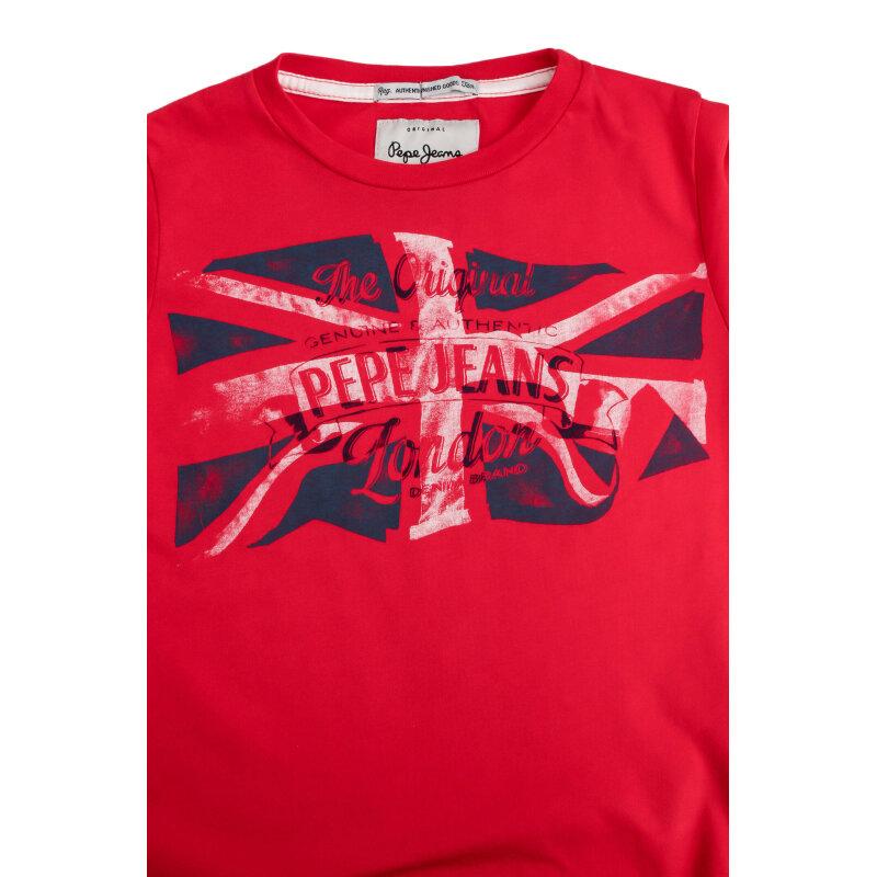 Longsleeve Thor Pepe Jeans London czerwony