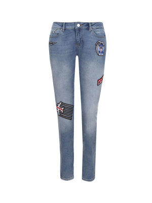 Karl Lagerfeld Jeansy Karl Jets Patch