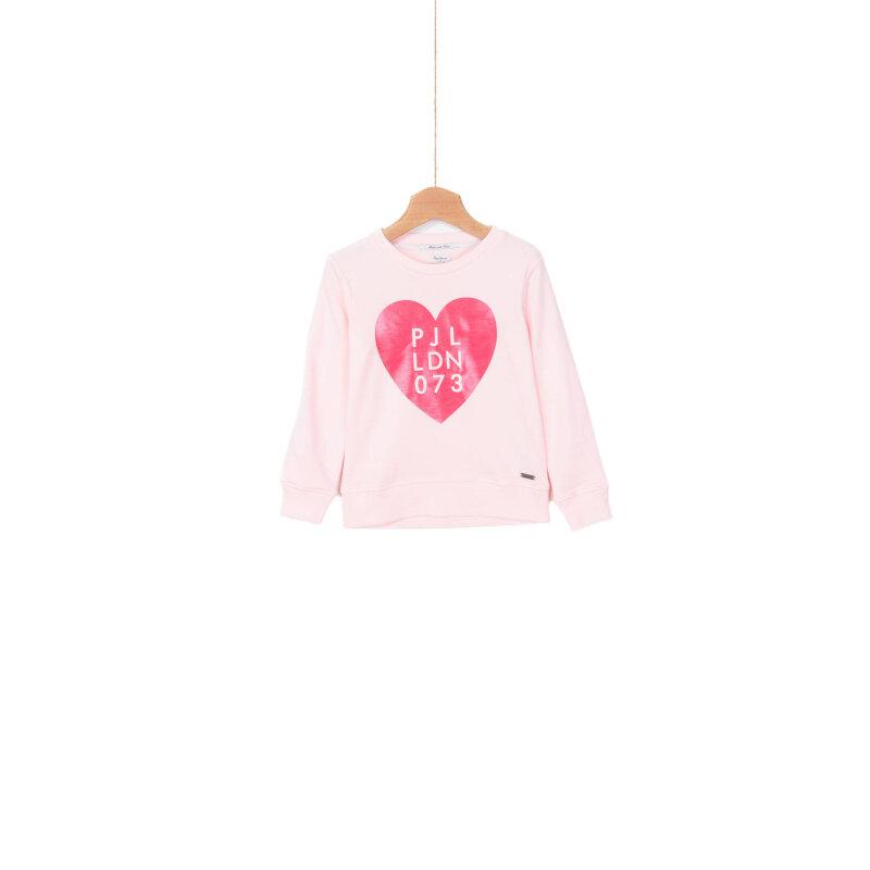Hipster Sweatshirt Pepe Jeans London pink