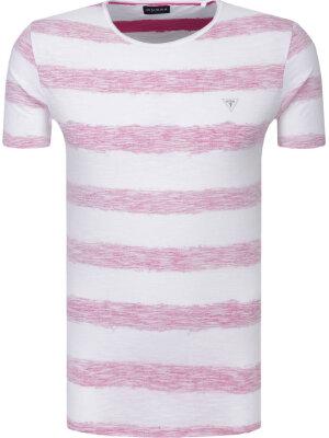 Guess Jeans T-shirt Jeremy vn Striped slub | Slim Fit