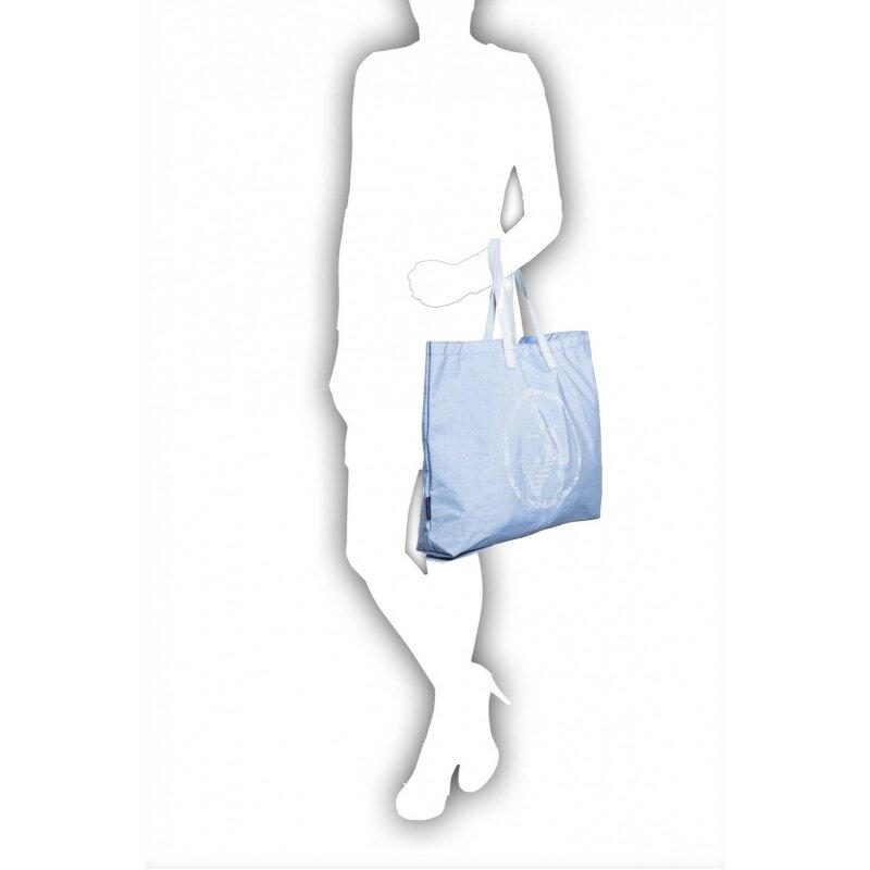 Shopperka Armani Jeans niebieski