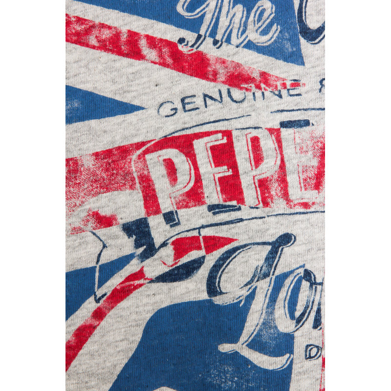 Longsleeve Thor Pepe Jeans London popielaty