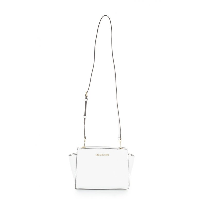 Selma Messenger bag Michael Kors white