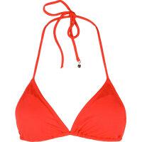 Basic Triangel bikini top Tommy Hilfiger red