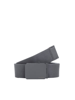Calvin Klein Belt Canvas Plaque