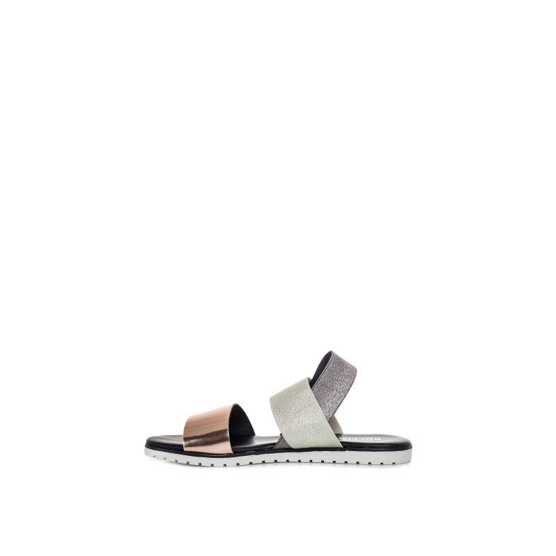 Sandały Pollini złoty
