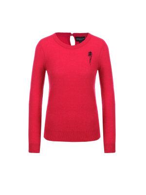 Emporio Armani Kaszmirowy sweter