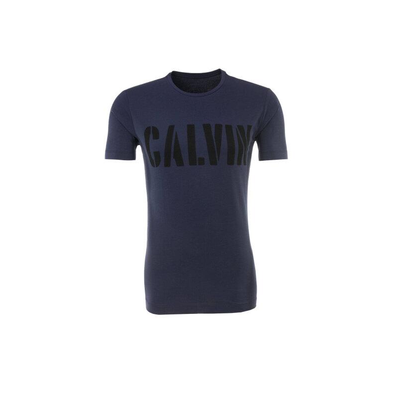 T-shirt Mood Indigo Calvin Klein Jeans granatowy