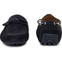 Mokasyny Trussardi Jeans granatowy