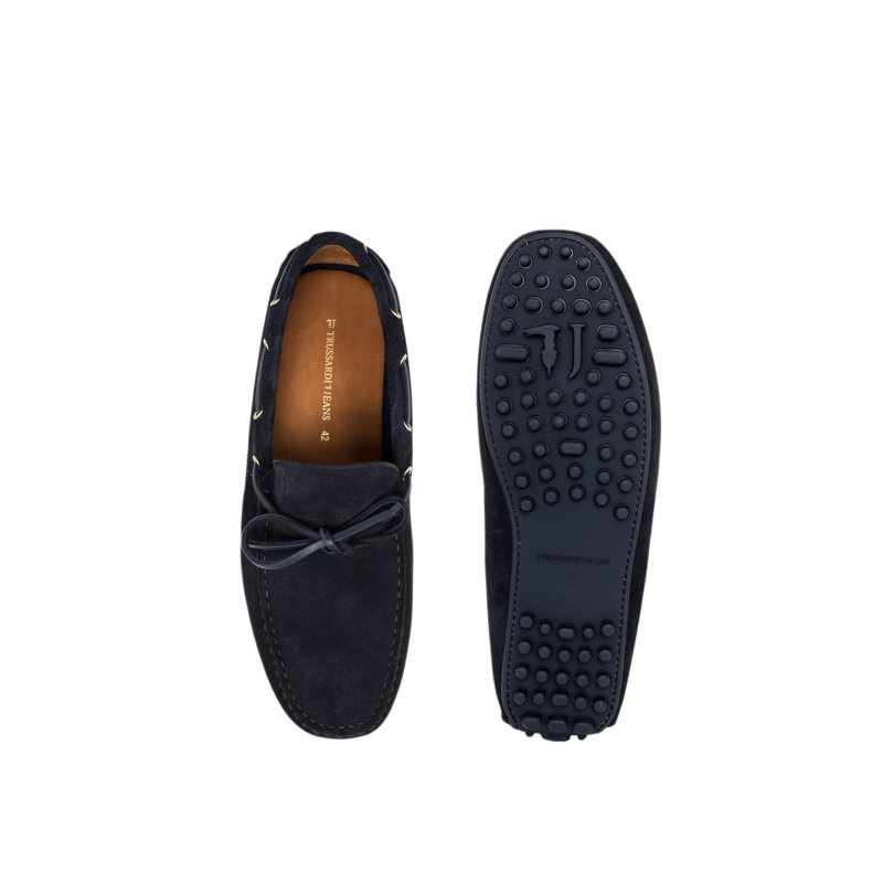Loafers Trussardi Jeans navy blue